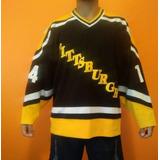 1d749458c14bb Camisa Nhl Pittsburgh Penguins Hoquei no Mercado Livre Brasil