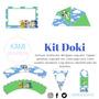 Kit Imprimible Doki. Editable. Fiestas.