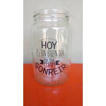 Frascos Vasos Personalizados Con Frases Vinilo Envio Al Pais