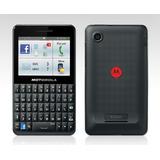 Celular Motorola Motokey Social Ex225 Com 3g, Wi-fi, Mp3