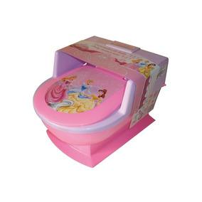 Baño Entrenador Cenefa Niña Bebe Bañito Princesas Infanti