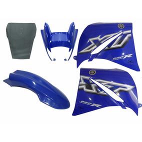 Kit Carenagem Xt660 Azul 2005 2006 Com Bolha Speed China