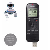 Grabadora De Voz Digital Estéreo Sony 4 Gb Interna Usb Px470