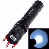 Lanterna Choque Tática Police 128000w Farol Mais Potente Top