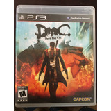 Juego Fisico - Playstation 3 Ps3 - Devil May Cry Dmc