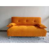 Sillón Sofa Stylo Americano 2 Cuerpos En Tela Chenille!!!
