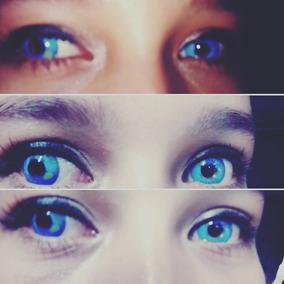 Pupilentes Azules Circle Lenses Azules Maid Dragon Lenses