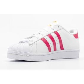 zapatos adidas superstar mujer rosas