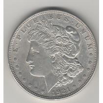 Ojo. Dolar Morgan De 1921. Xf.