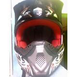 Casco De Moto Cross Rbk Edge 13 Original