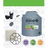 Combo Tanque De Agua Completo Eternit Tricapa 750 Litros