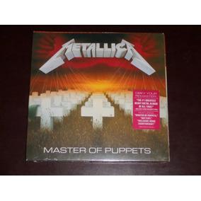 Cd Metallica Master Of Puppets Remastery Lacrado Fretegrátis