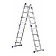 Escada Alumínio Profissional Articulada 4x4 - 16 Degraus