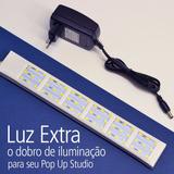 Iluminação Extra Para Pop Up Studio - 54 Leds Extra Potentes
