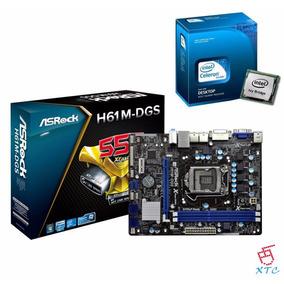 Combo Intel Cpu G1610 A 2.6 Ghz + Tarjeta Madre Asrock H61