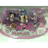 Set De Muñequitos De Disney Store. Minnie. Bella Y Bestia.