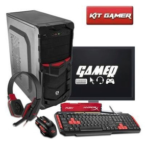 Pc Gamer Completo A4 4000, Teclado , Mouse E Headset Gamer