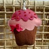 Lembrancinhas Cupcake Em Feltro -chaveiro Ou Aplicação.