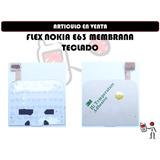 Flex Nokia E63 Membrana Teclado Nuevo Somos Tienda