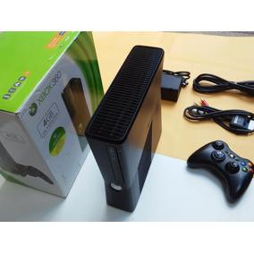 Xbox 360 4gb Destravado 2 Controles