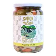 Pickles Mixtos  Sabor Del Moconá  X660g