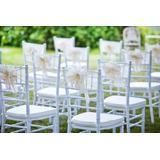 Sillas Tiffany Color Blancas - Alquiler Y Venta