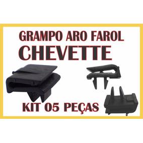 Kit Grampo Do Farol Chevette Tubarão 73 Até 82 Jogo 5 Peças