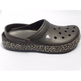 Crocs Crocband Dama Animal Print Clog 100 % Originales