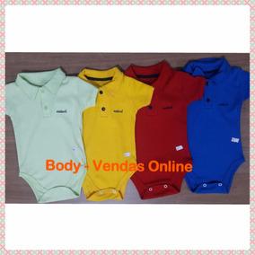 Body Gola Polo Infantil Marcas Menino Bebê