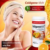 Colageno En Combinación Vich Polvo Sabor Naranja 450 G
