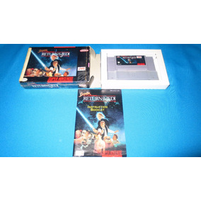 Super Star Wars Return Of The Jedi Snes *con Caja Y Manual*