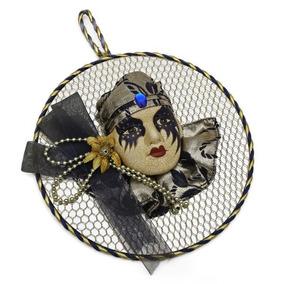 Mascara De Porcelana Carnaval Veneziano