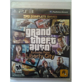 Ps3 Grand Theft Auto Liberty City $275 Pesos Seminuevo V/c