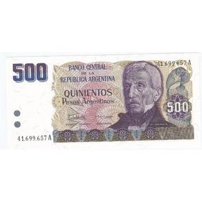 Billete 500 Pesos Argentino De 1984 Sin Circular ¡aprovecha!