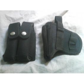Funda Para Pistola Con Porta Cargador Y Cargador Doble