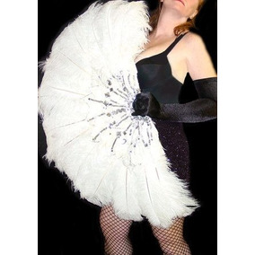 Abanicos De Plumas Para Bailes Carnaval Garotas