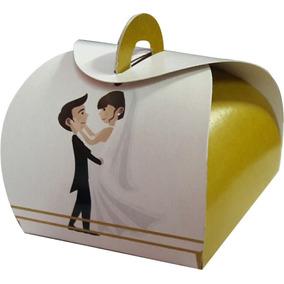 Embalagem Caixa Caixinhas Bem Casado Casamento3 100 Pçs