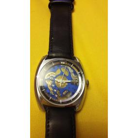 Reloj De Pulsera Vintage Eskeleton Suizo.