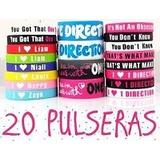 20 Pulseras De Silicona De One Direction 1d En Palermo