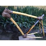 Cuadro De Bicicleta De Bambú Colihue, Single S, Talla 52