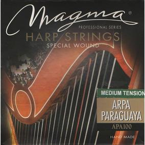 Encordado Magma Apa100 Para Arpa Paraguaya De 36 Cuerdas