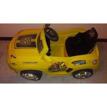 Carro Eléctrico Montable Camaro Transformers Bumblebee