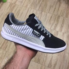 Tenis Zapatillas Puma California Baja Rayas Hombre Envio Gra