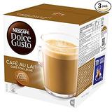 Nescafé Dolce Gusto Caf? Au Lait (pack De 3, El Total De 48
