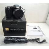 Camara Digital Nikon L340, Zoom X 28, 20,2 Mp, Como Nueva