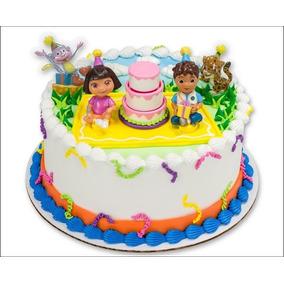 Dora La Exploradora Fiesta Infantil Decoracion Pastel Diego