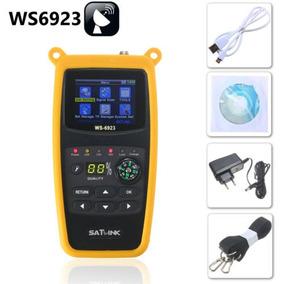 Localizador Satlink Ws-6923 Lcd Dvb-s Professional Original