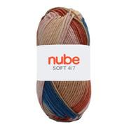Hilado Nube Soft 4/7 Mix X 5 Ovillos - 1/2 Kg Por Color