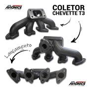 Coletor Escape Turbo Motor Ohc Chevette Para Turbo T3