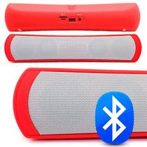 Bocina Bluetooth Recargable Iphone Usb Micro Sd Portatil Mp3